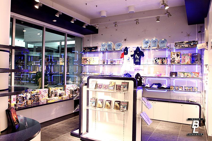 Дизайн интерьера проект магазина